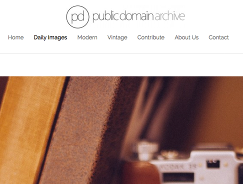 Screenshot: publicdomainarchive.com