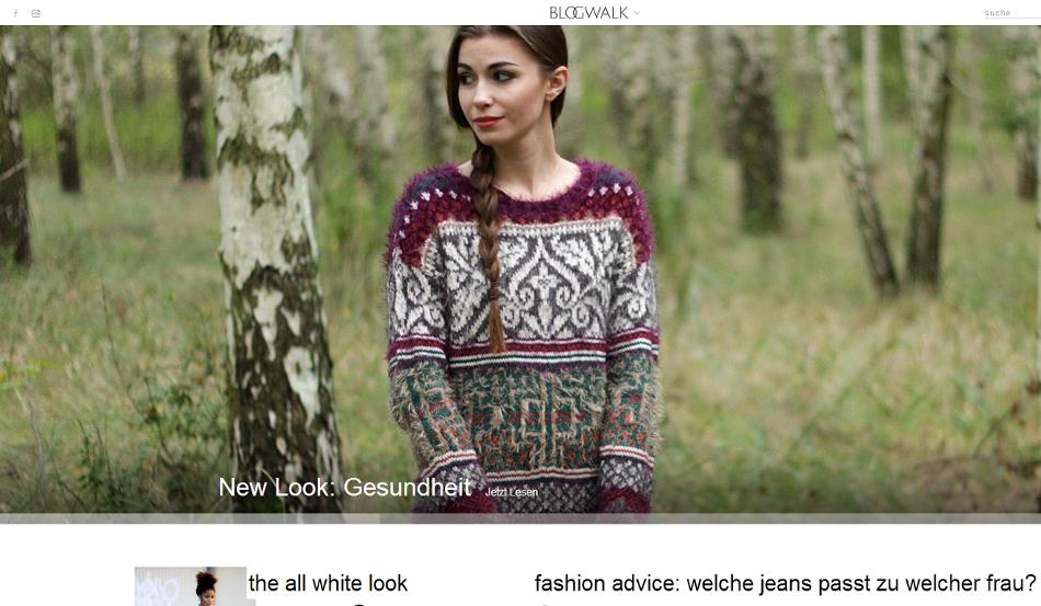 Screenshot Blogwalk