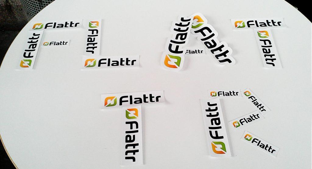 Flattr-Sticker